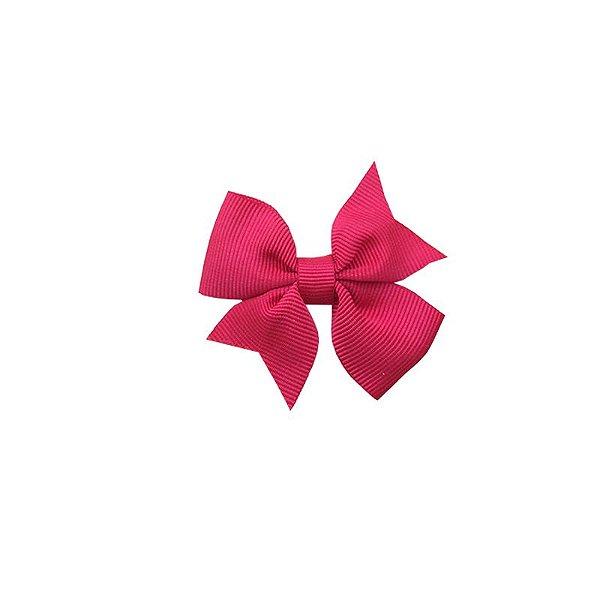 Laço Infantil Rosa Escuro - Catavento Simples P