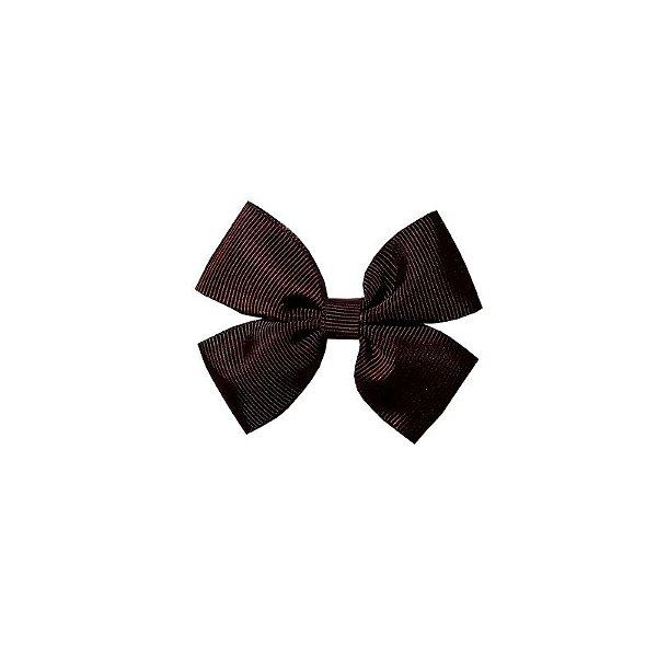Laço Pequeno Marrom Escuro - Paris Petit