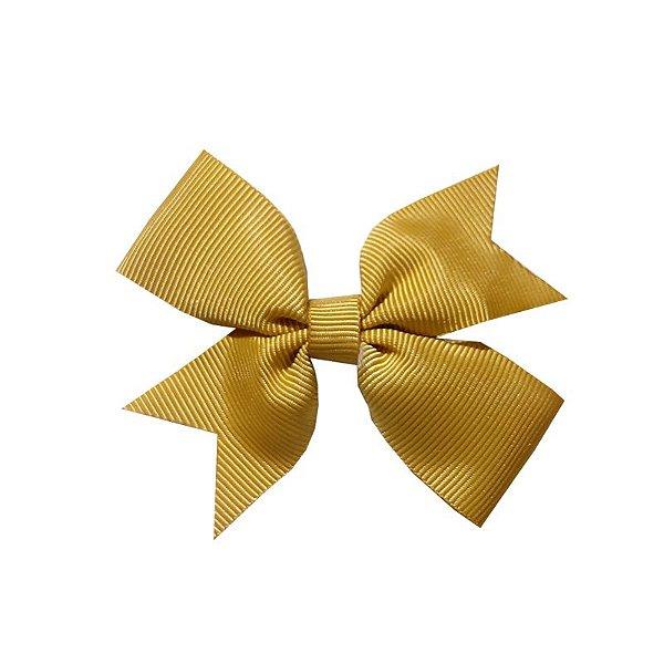 Laço Catavento Simples Dourado - Catavento Simples - M
