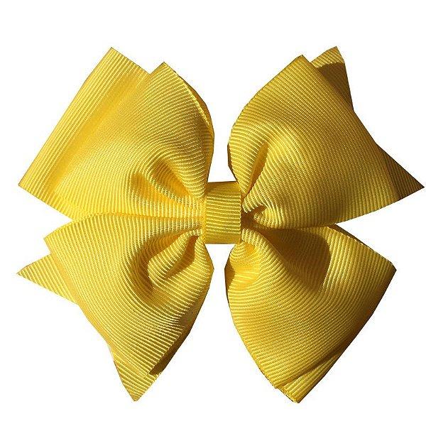 Laço Grande Amarelo - G