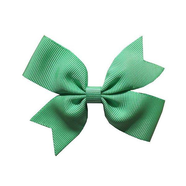 Laço para Cabelo Verde Claro - M