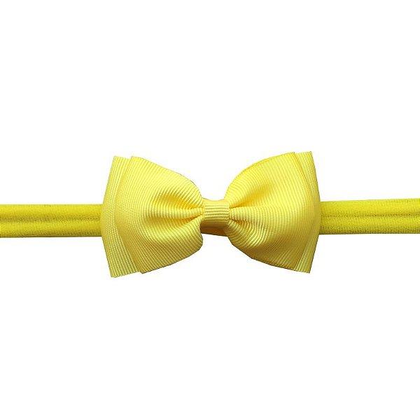 Faixa de Cabelo para Bebê Amarelo