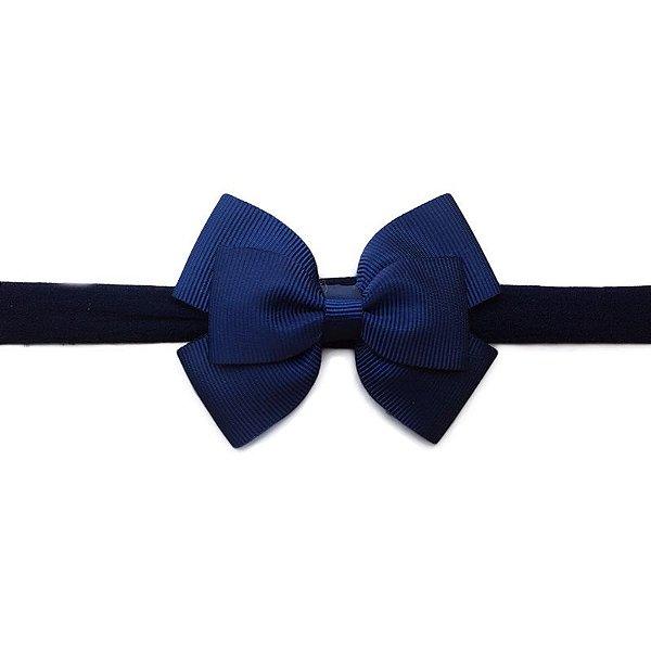 Faixa de Cabelo Infantil - Azul Marinho