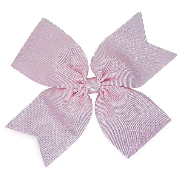 Laço Catavento Simples Grande Rosa Claro
