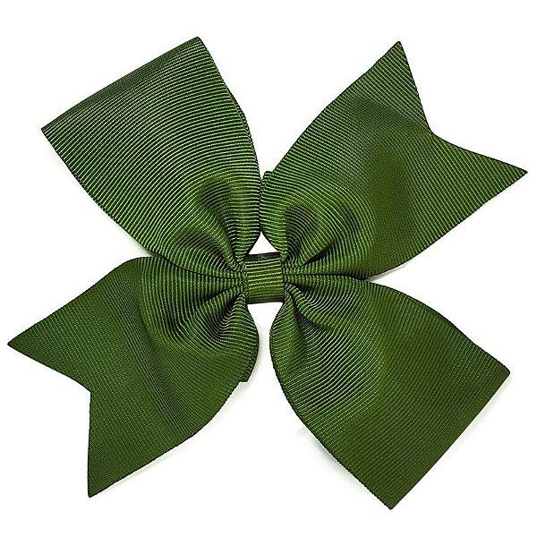 Laço de Gorgurão Verde Escuro - G
