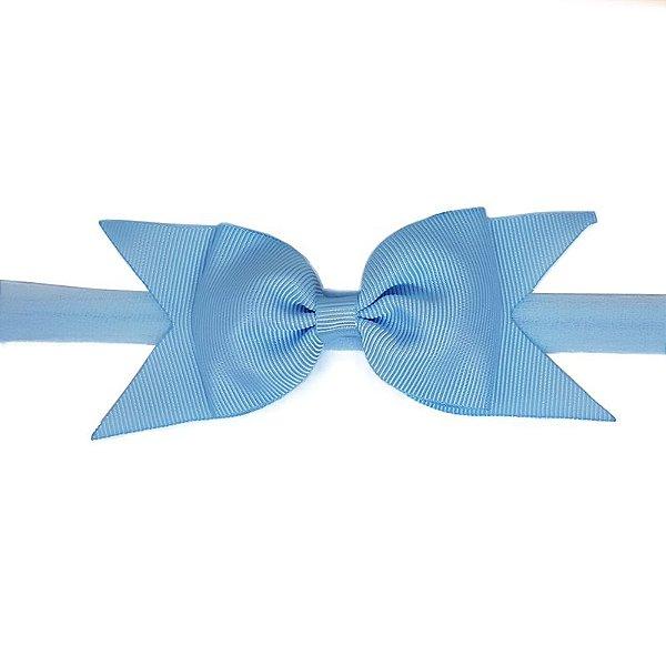 Faixa Bebê Azul Claro com Meia de Seda - Estilo