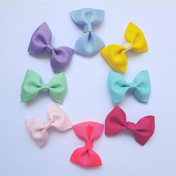 Kit 8 Lacinhos de Cabelo Infantil - Candy Colors