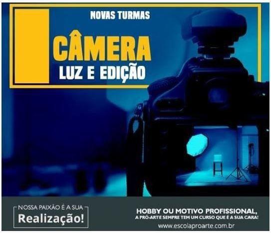 Curso - Câmera Luz e Edição Individual - 10 horas
