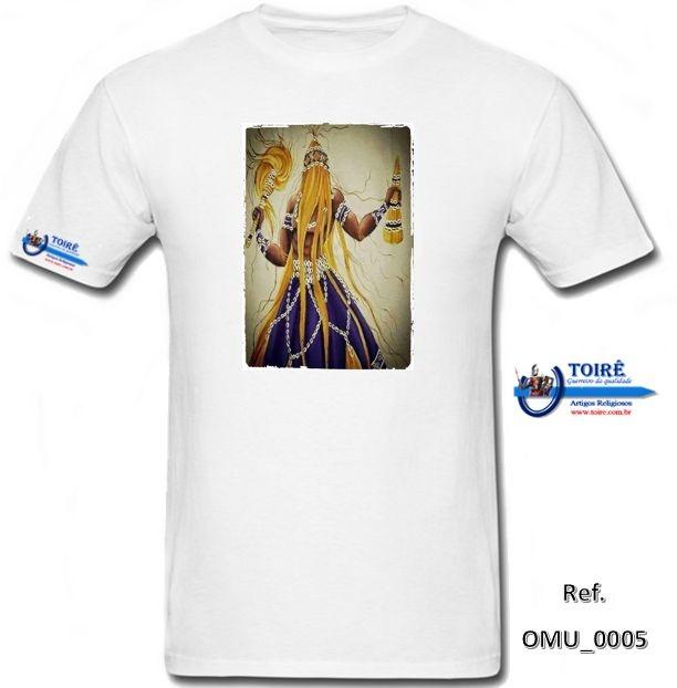 Camiseta Personalizada Branca - Omolu/Obaluaê