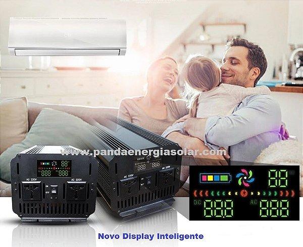 Inversor 3000 watts Onda Senoidal pura 24Vdc saída 127Vac PANDA