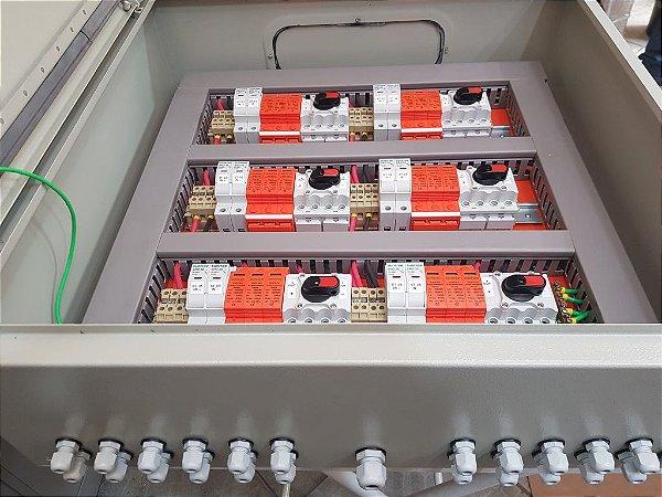 Quadro Fotovoltaico (Stringbox) Montagem sobre encomenda.