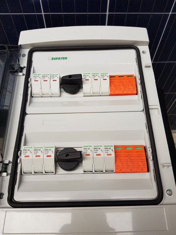 Stringbox  6 x 2 1000VDC  15A Suntree