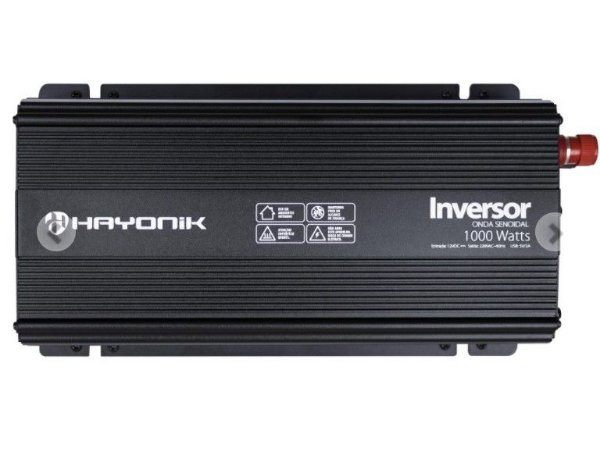 Inversor de Onda Senoidal 1000W 12VDC/220V PW21-3 HAYONIK