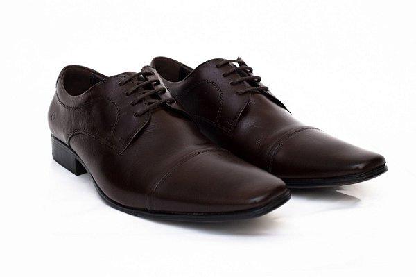 Sapato Democrata Couro Aspen - Mahogany