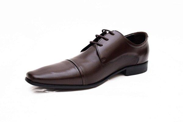 Sapato Democrata Couro Still - Marrom