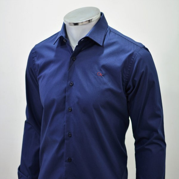 Camisa Ogochi  Essencial Slim Fit - Marinho