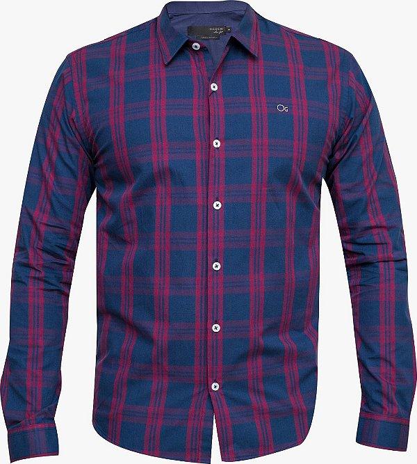 Camisa Ogochi Essencial Slim Fit - Xadrez