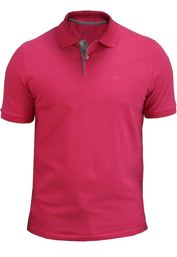 Polo Ogochi Essencial Piquet - Pink