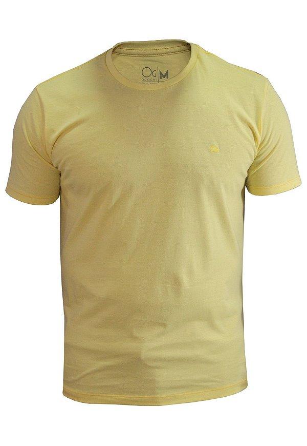 Camiseta Ogochi Essencial - Amarelo Claro
