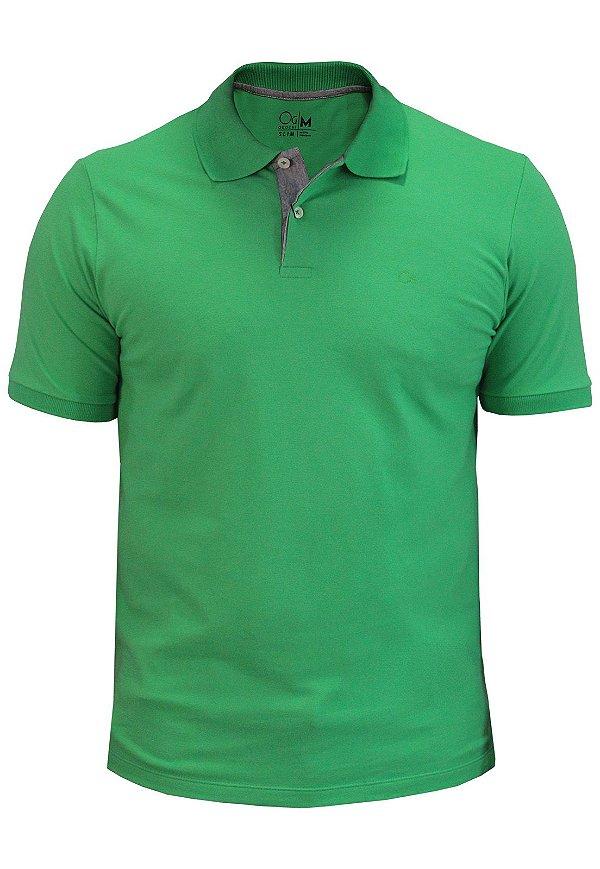 Polo Ogochi Essencial Piquet - Verde Bandeira