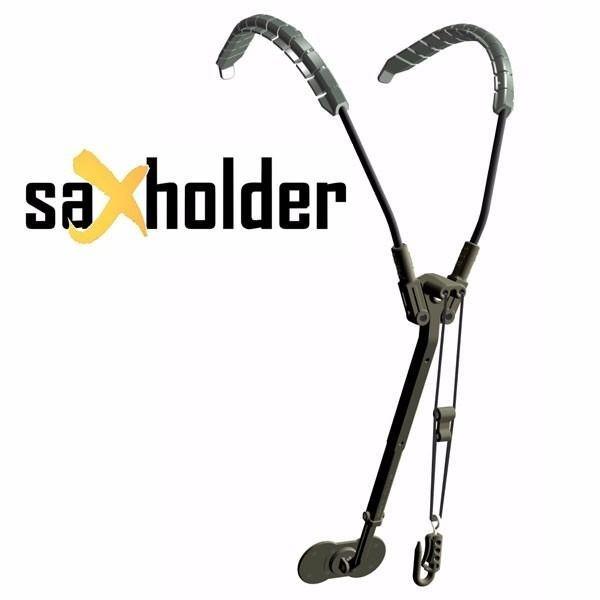 Sax Holder Correia Jazzlab para Sax Soprano, Alto, Tenor e Barítono