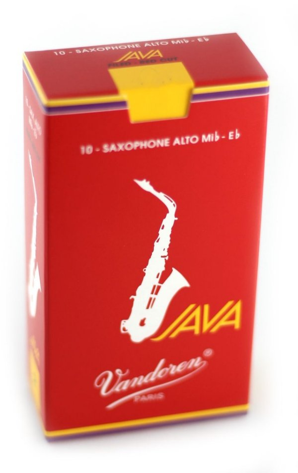 Palheta Vandoren Java Red Cx 10 - Sax Alto