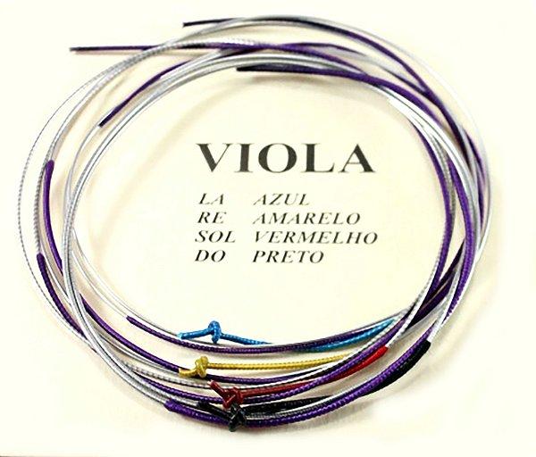Jogo De Cordas Mauro Calixto Tradicional Viola De Arco