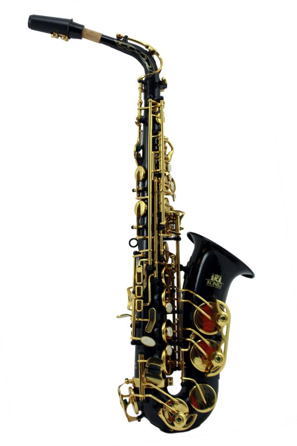 Saxofone Alto em Mib Konig Classic Séries Black Gold