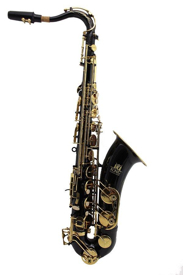 Saxofone Tenor Konig Classic Em Sib Black Gold