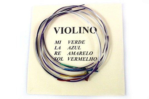 Encordoamento Mauro Calixto 1/2 - Violino jogo cordas
