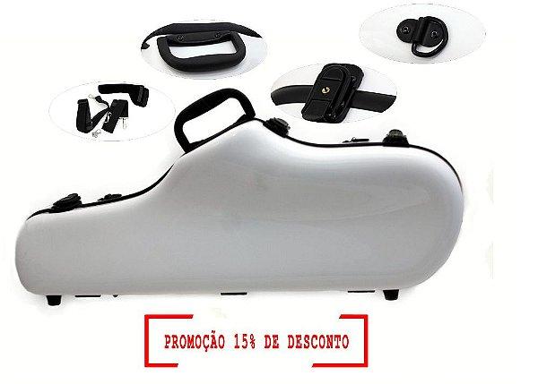 ESTOJO (CASE) EM FIBRA DE VIDRO PARA SAX ALTO