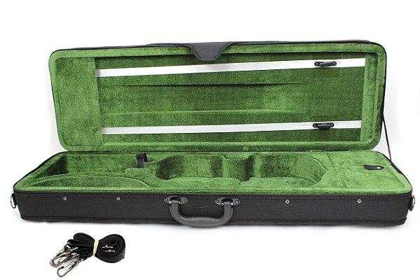 Estojo Case Retangular Preto Para Violino 4/4