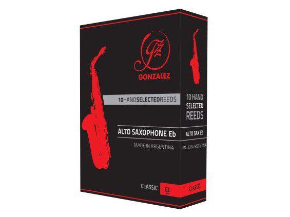 Palhetas Orgânicas Gonzalez Classic- Sax Alto Mib