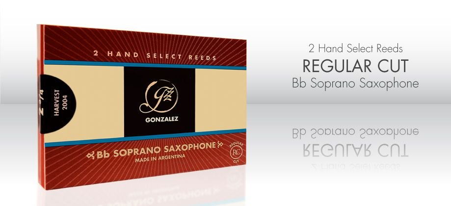 Palheta Gonzalez  RC (Regular Cut) Sax Soprano Sib