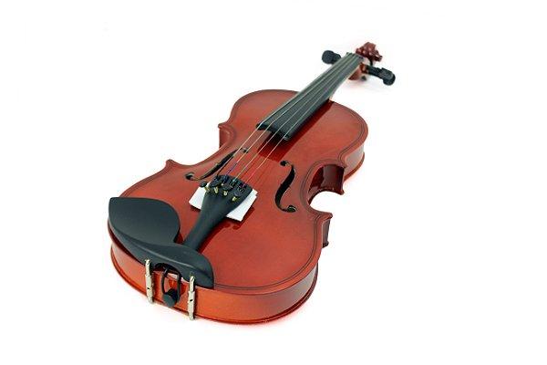 Violino Infantil Gold Wood 1/4 Estojo Nfe Garantia