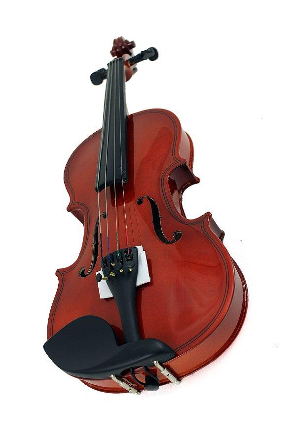 Violino Infantil Gold Wood 1/8 Estojo Nfe Garantia
