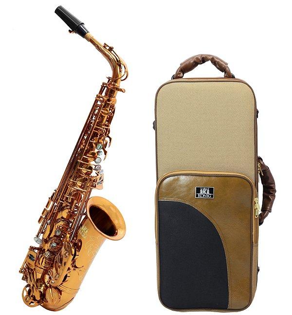 Sax Alto Mib Profissional Konig Master Séries Gold Cooper