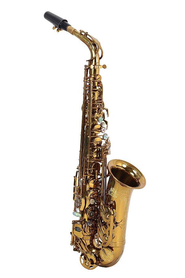Sax Alto Mib Profissional Konig Master Séries dark Gold