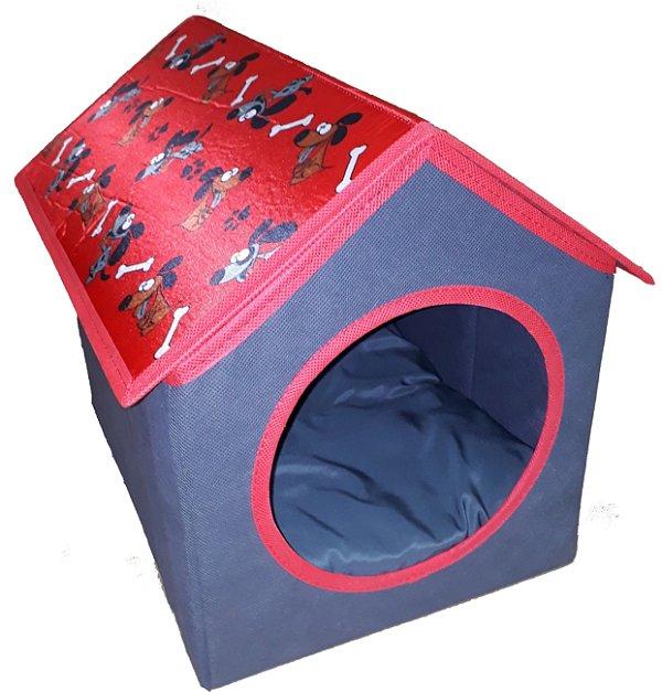 casinha para gatos e cães de pequeno porte