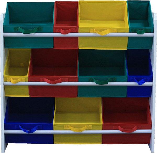 Organizador de brinquedo colorido