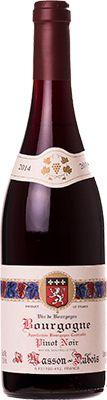 Vinho Bourgogne Pinot Noir Tinto Masson Dubois