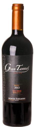 Vinho Montes Toscanini Gran Tannat Premium Tinto