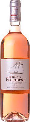 Vinho Le Rosé de Floridene Denis Dubourdieu