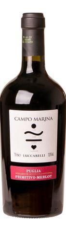 Vinho Luccarelli Campo Marina Primitivo Merlot Tarantino