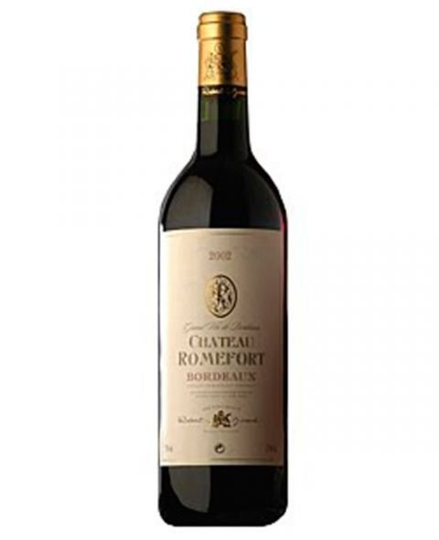 Robert Giraud Chateau Romefort Bordeaux Tinto