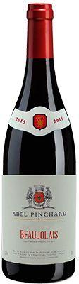 Vinho Beaujolais Rouge Abel Pinchard