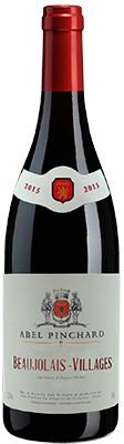 Vinho Beaujolais Village Rouge Abel Pinchard