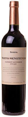 Vinho Nieto Senetiner Reserva Cabernet Sauvignon Syrah