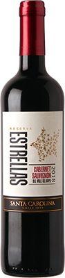 Vinho Estrellas Santa Carolina Cabernet Sauvignon