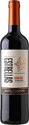 Vinho Estrellas Santa Carolina Carmenère